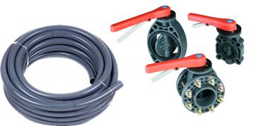 PVC armatúry